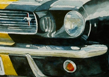 1966 Mustang GT350H